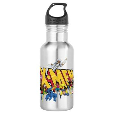 Classic X-Men | X-Men Character Pattern Stainless Steel Water Bottle