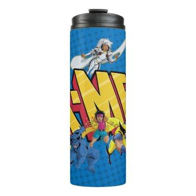 Classic X-Men | X-Men Character Pattern Thermal Tumbler