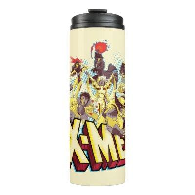 Classic X-Men | X-Men Team With Logo Thermal Tumbler