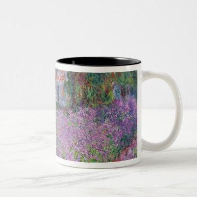 Claude Monet | The Artist's Garden at Giverny Two-Tone Coffee Mug