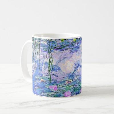 Claude Monet Water Lilies French Impressionist Art Coffee Mug