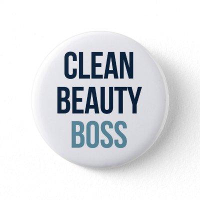 Clean Beauty Boss Button