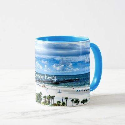 Clearwater Beach, Florida, vacation destination Mug