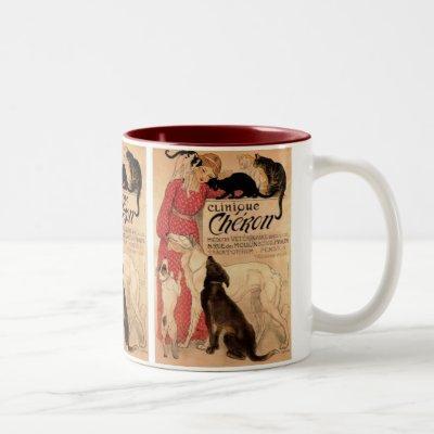 Clinique Cheron Two-Tone Coffee Mug
