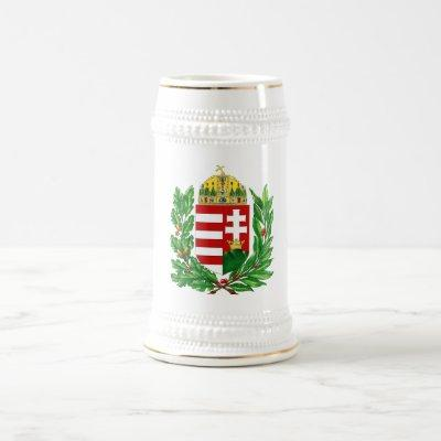 Coat of Arms Hungary Budapest Gifts Beer Stein