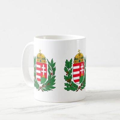 Coat of Arms Hungary Budapest Gifts Coffee Mug