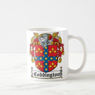 Coddington Family Crest Coffee Mug