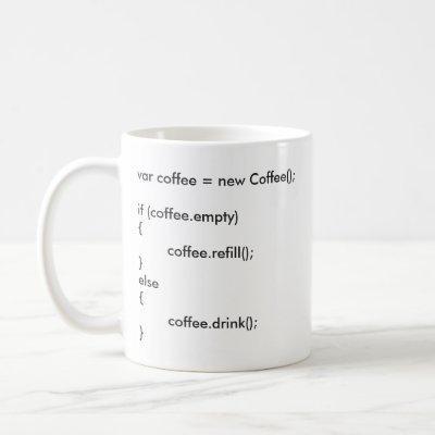 //Coding// Coffee Mug