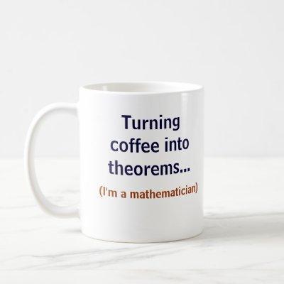 Coffee and Math Coffee Mug