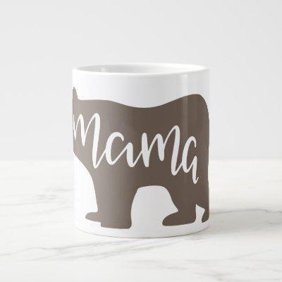 Coffee Lovers Mama Bear Giant Coffee Mug