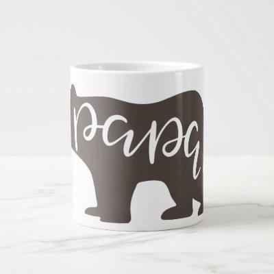 Coffee Lovers Papa Bear Giant Coffee Mug