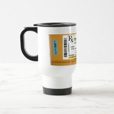 Coffee Mug Customizable Prescription RX