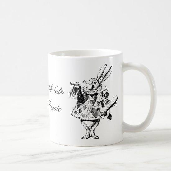 Coffee mug for those who like Alice in Wonderland.
