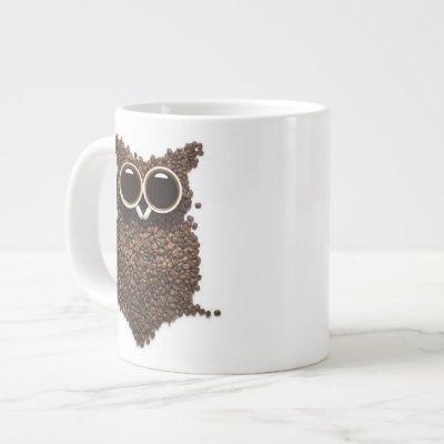 Coffee Owl Jumbo Mug