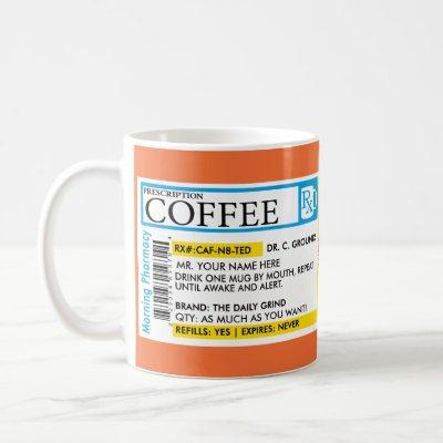 Coffee Prescription Mug in 7 styles!