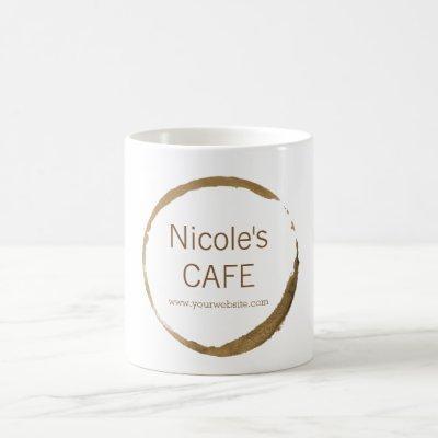 Coffee Shop - coffee stain Coffee Mug
