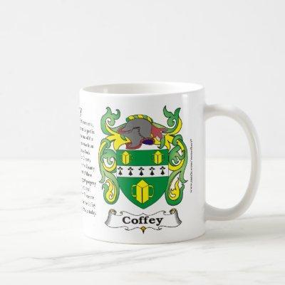 Coffey Family Coat of Arms Mug