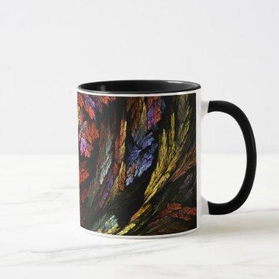Color Harmony Abstract Coffee Mug