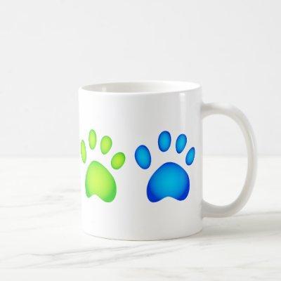 Colourful Paws Coffee Mug