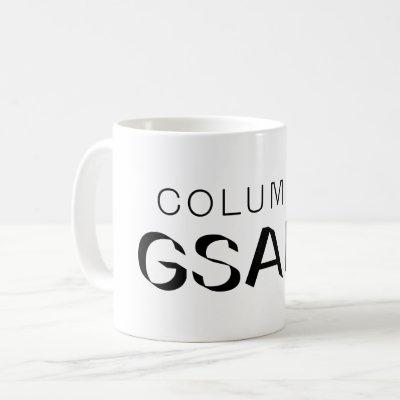 Columbia GSAPP Black Logo Coffee Mug
