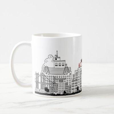 Columbia Heights Nostalgic Coffee Mug