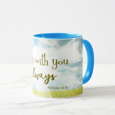 Comforting Bible Verse Quote Mug