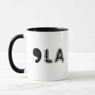 Comma-LA for Kamala Harris Mug