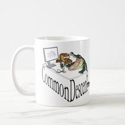 Common Descent Snake and Gator Coffee Mug