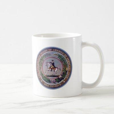 Confederate States of America Seal Coffee Mug