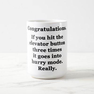Congratulations Coffee Mug