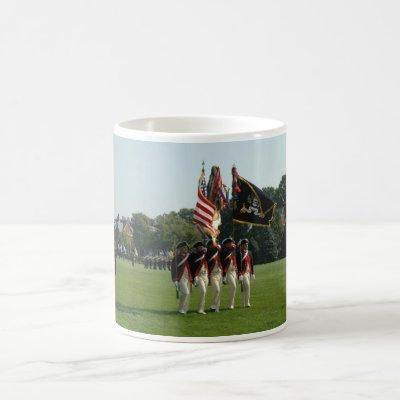 Continental Color Guard of The Old Guard Coffee Mug