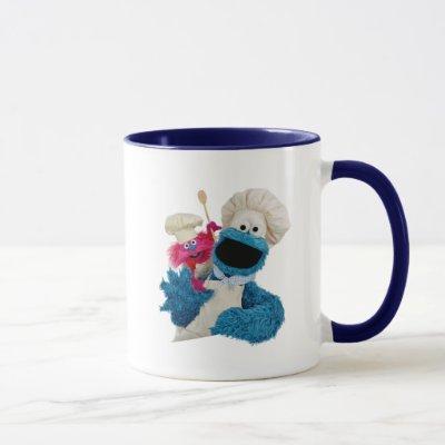 Cookie Monster's Foodie Truck Friends Mug