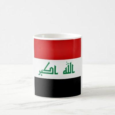 Cool Iraq Flag Coffee Mug