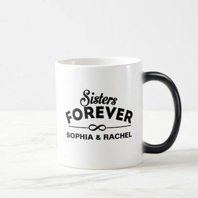 Cool - Sisters Forever Magic Mug