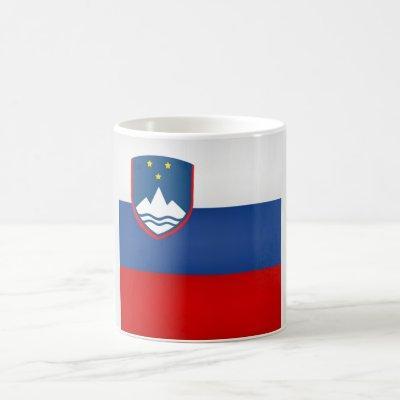 Cool Slovenia Flag Coffee Mug