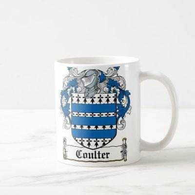 Coulter Family Crest Coffee Mug