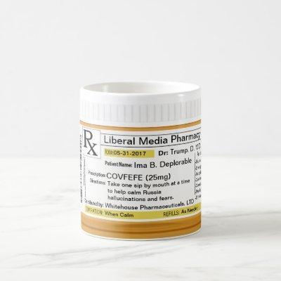 Covfefe Mug Prescription RX