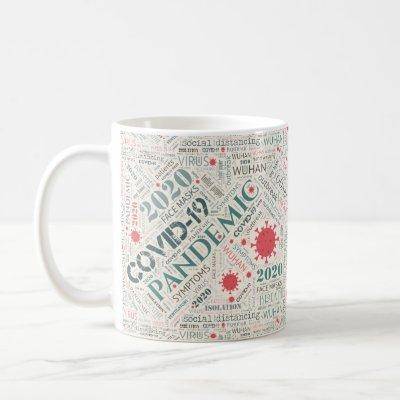 Covid-19 Text Design Color2 ID742 Coffee Mug