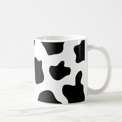 Cow print coffee mug | Personalizable