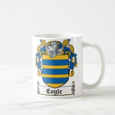 Coyle Family Crest Coffee Mug