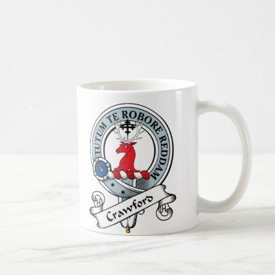 Crawford Clan Badge Coffee Mug