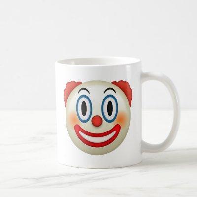 Crazy Clown Emoji Coffee Mug