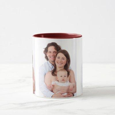 Create Personalized Photo Mug