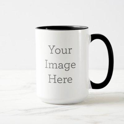 Create Your Own 15oz Combo Two Tone Coffee Mug