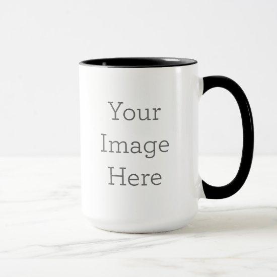 Create Your Own 15oz Combo Two Tone Coffee Mug