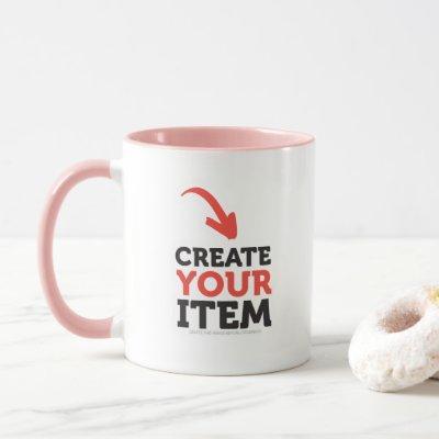 CREATE-YOUR-OWN DIY Custom design bachelorette Mug