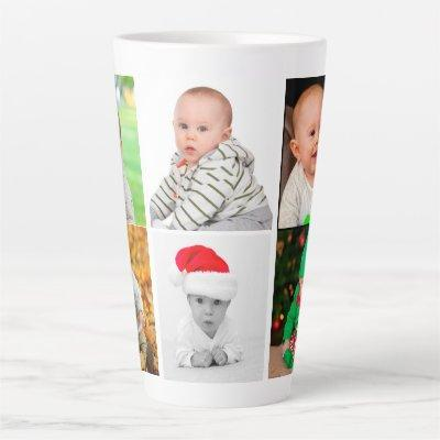 Create Your Own Family Baby Photo Latte Mug