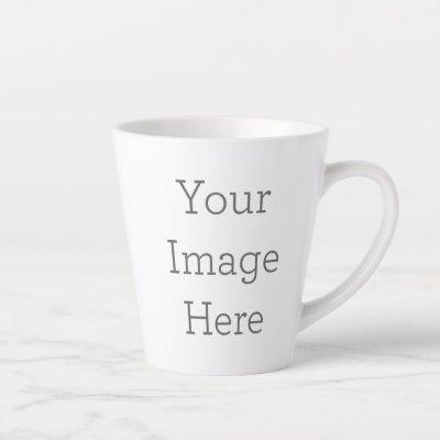 Create Your Own Latte Mug