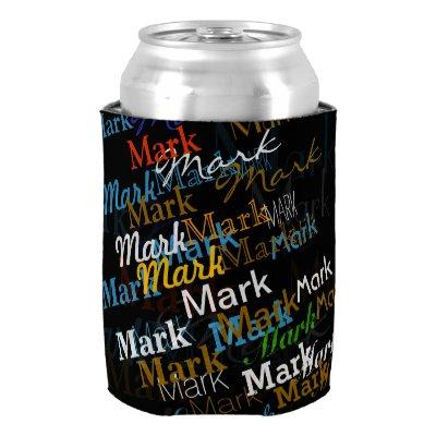 create your own named can cooler