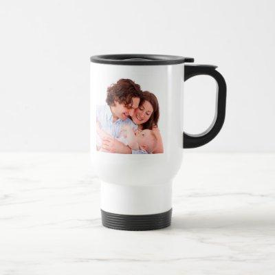 Create Your Own Personalized Photo Travel Mug